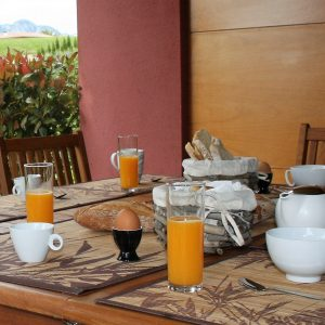 Villa Marigolf détails petit déjeuner 2