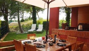 Villa Marigolf nouvelle terrasse aout 6